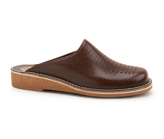Slippers - Patrik Brown Brun | Docksta Sko