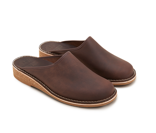 Slippers - Patrik 962 Brown | Docksta Sko
