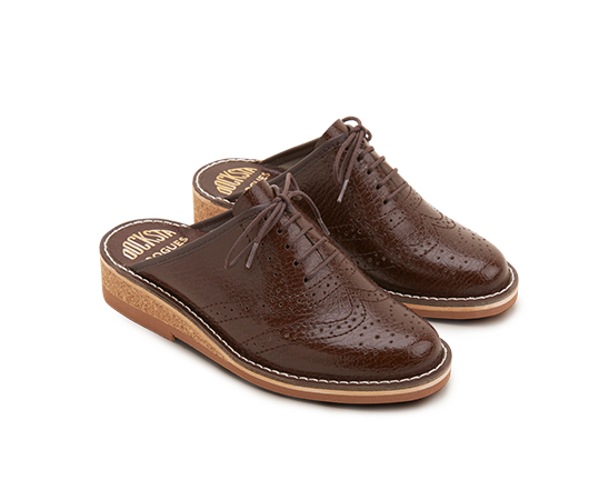 Slippers - Brogues Mats Theselius Brown | Docksta Sko
