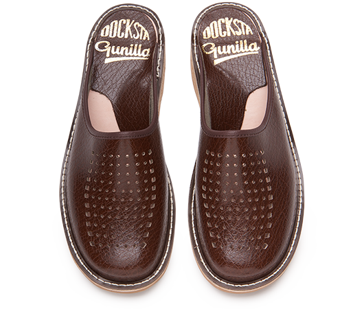 Slippers - Gunilla 902 Leather | Docksta Sko